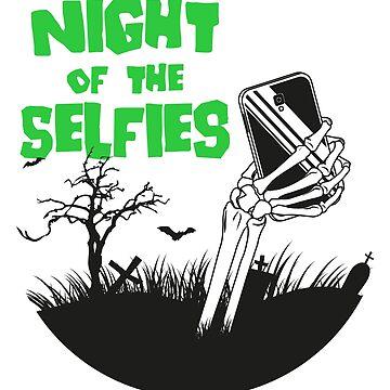 Night of the selfies by irideocrea