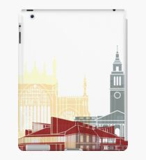 Kingston Upon Hull skyline poster iPad Case/Skin