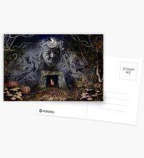 Samhain Goddess : The Crone Postcards