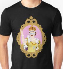 """""""Queens Only"""" - Queen Elizabeth II (ON BLACK) Unisex T-Shirt"""