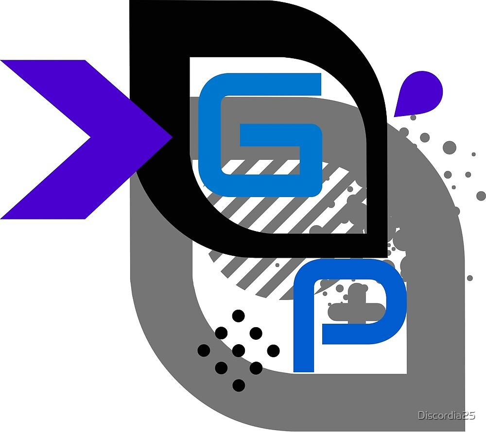 G33k P0p Logo  by Discordia25