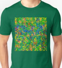 Abstract pattern in impressionism style Unisex T-Shirt