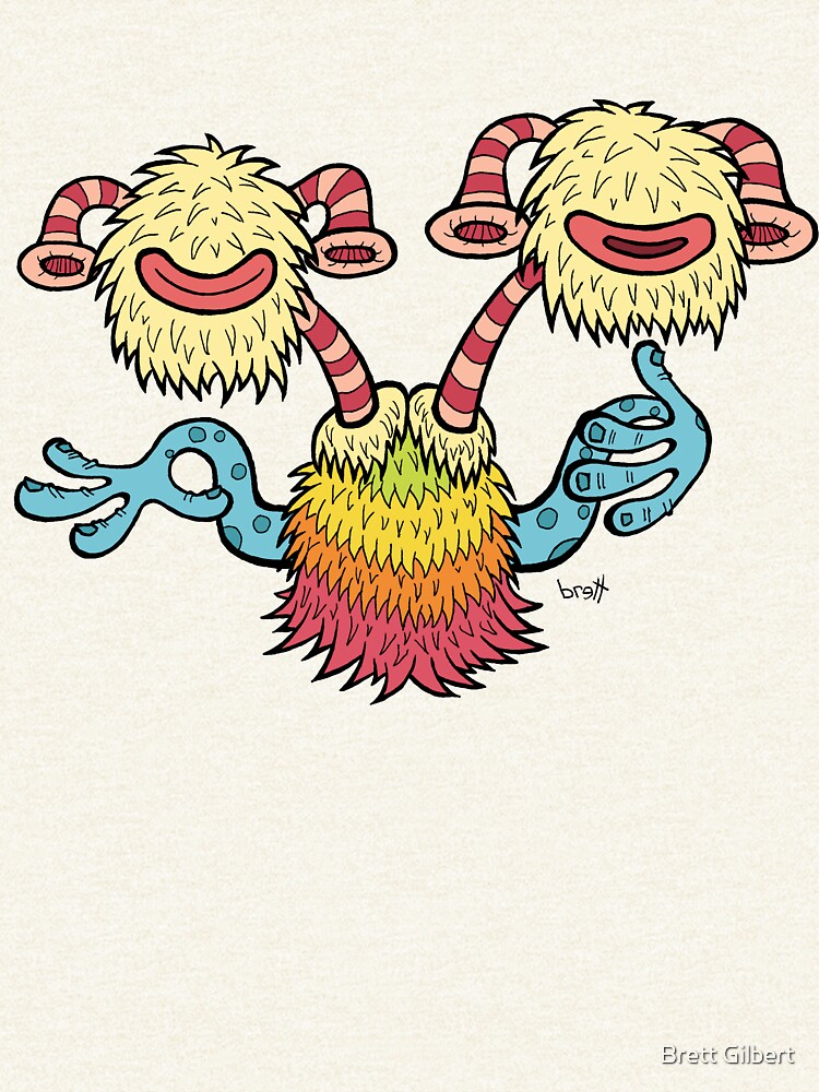 Double Headed Beat Box Monster by bgilbert