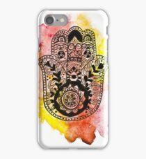 HAMSA Watercolour Phone Case iPhone Case/Skin