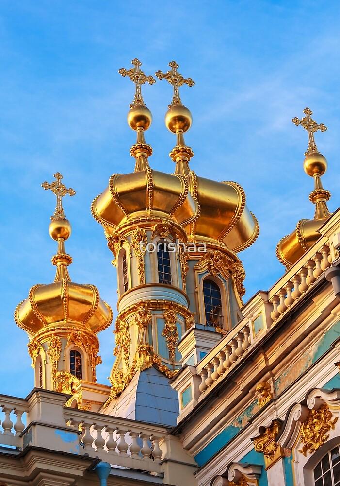 Golden domes by torishaa