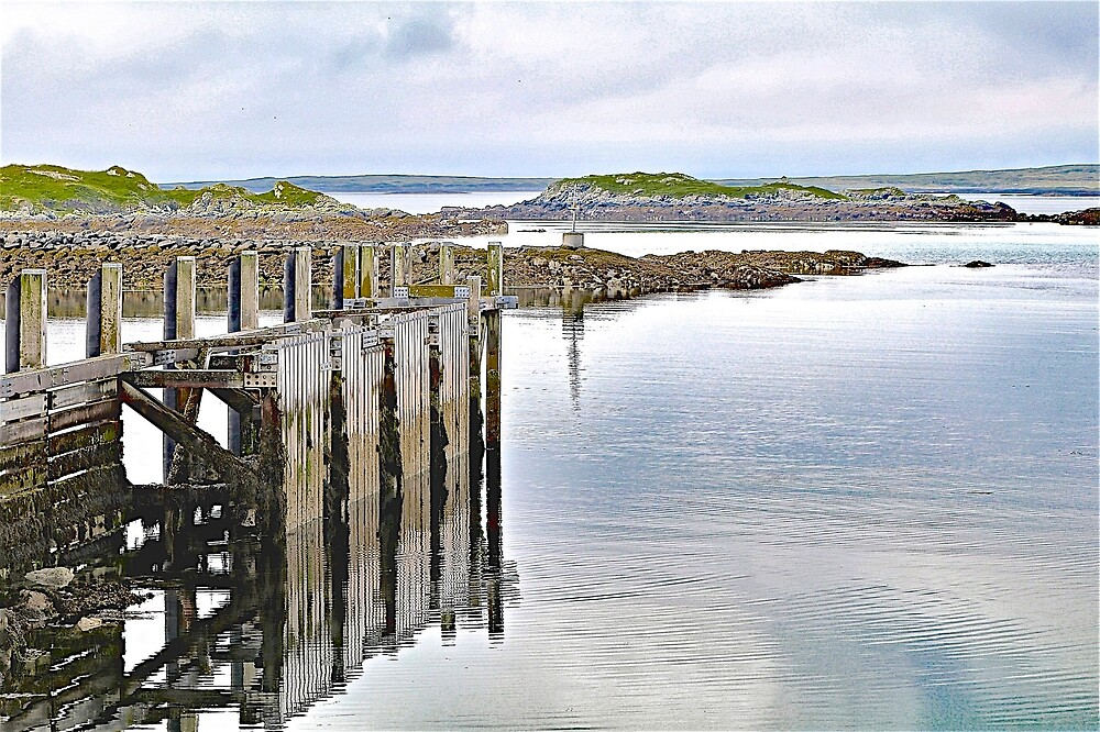 The Old Jetty by John Thurgood