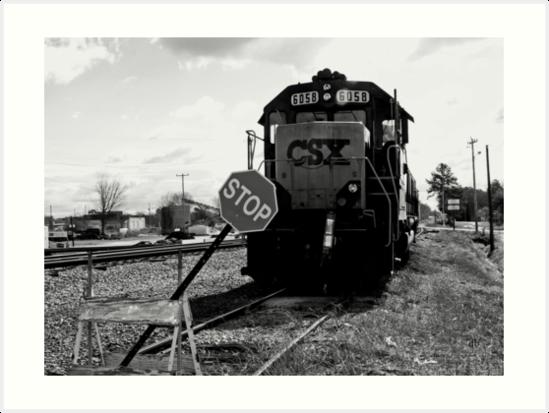 TRAIN STOP by daniels