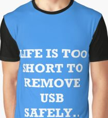 The Risks of Everyday Life Graphic T-Shirt