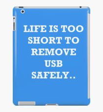 The Risks of Everyday Life iPad Case/Skin