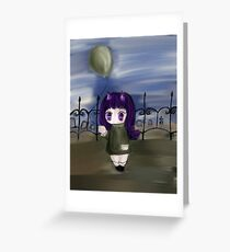 Balloon Baby Greeting Card