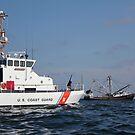 US-Küstenwache Cutter Marlin patrouilliert die Gewässer südlich von Pensacola Bay. von StocktrekImages