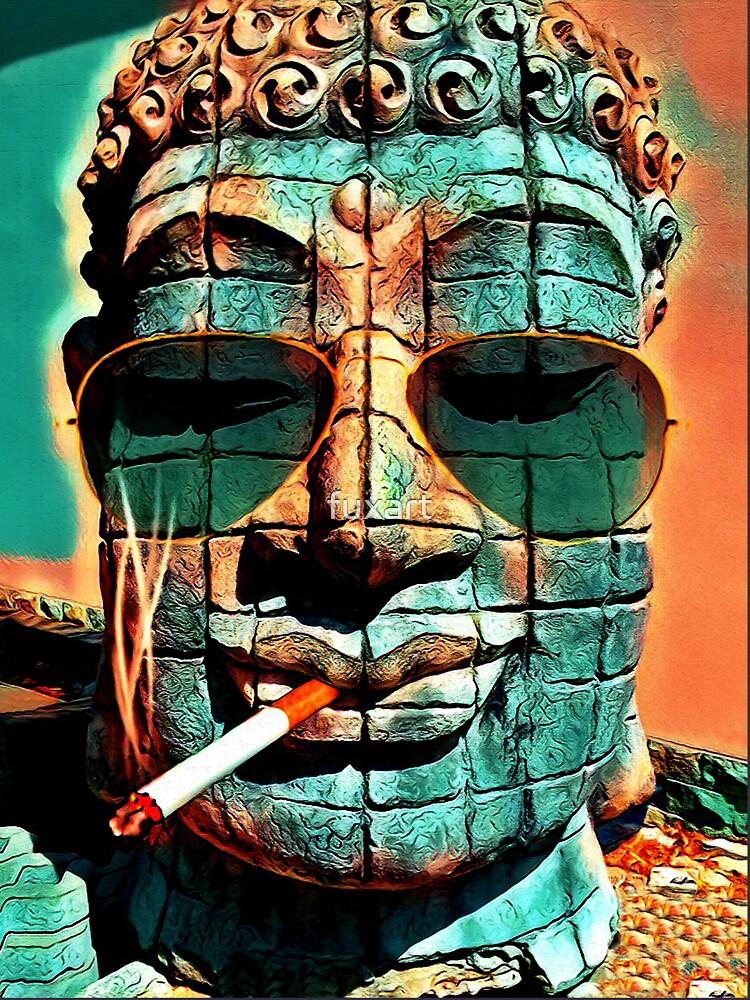 SMOKING BUDDHA von fuxart