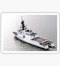 U.S. Coast Guard Cutter Stratton Sticker