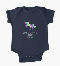 Unicorns Are Real One Piece - Short Sleeve