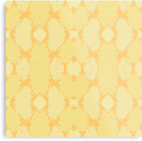 Yellow Abstract Pattern by stylebytara