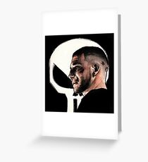 Frank Castle Greeting Card