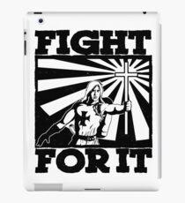 FIGHT FOR IT  iPad Case/Skin
