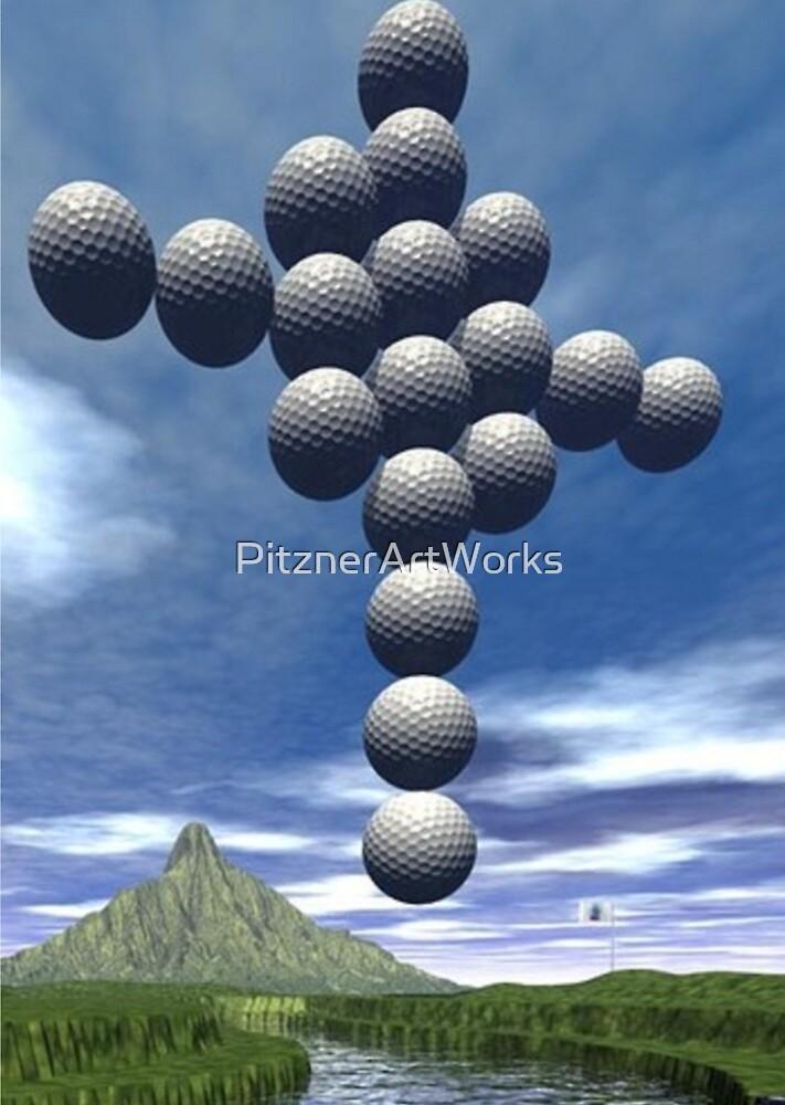 CROSS GOLF by PitznerArtWorks