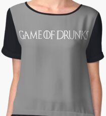 Game of Dunks Chiffon Top