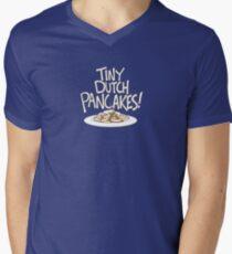 Tiny Dutch Pancakes! Men's V-Neck T-Shirt