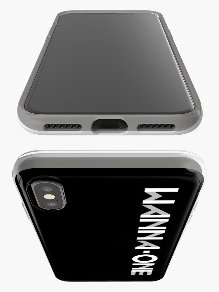 Vista alternativa de Funda y vinilo para iPhone Produce 101- WANNA-ONE (황 미현) ft. LOGOTIPO DE GRUPO