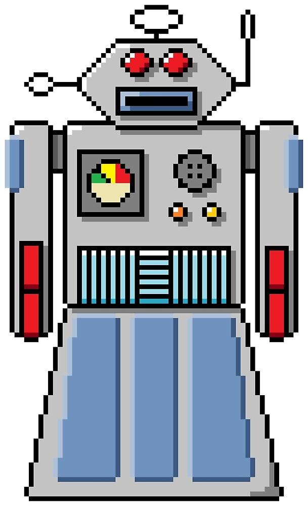 Pixel Robot 047 by Vampireslug