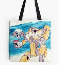 Gortys and Loaderbot Tote Bag