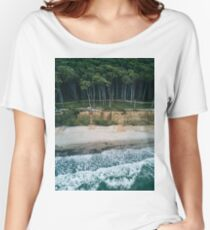 Waves, Woods, Wind and Water - Landscape Photography Women's Relaxed Fit T-Shirt