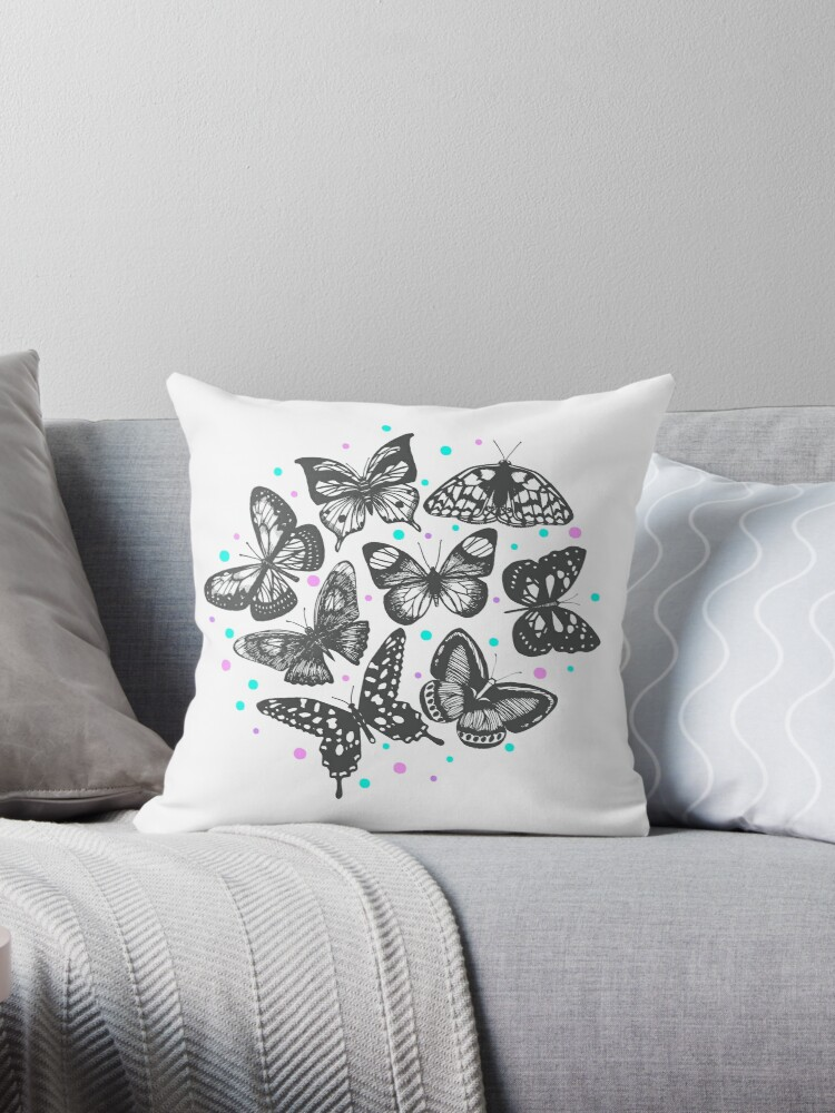 Graphic butterfly print by Daria Zemtsova