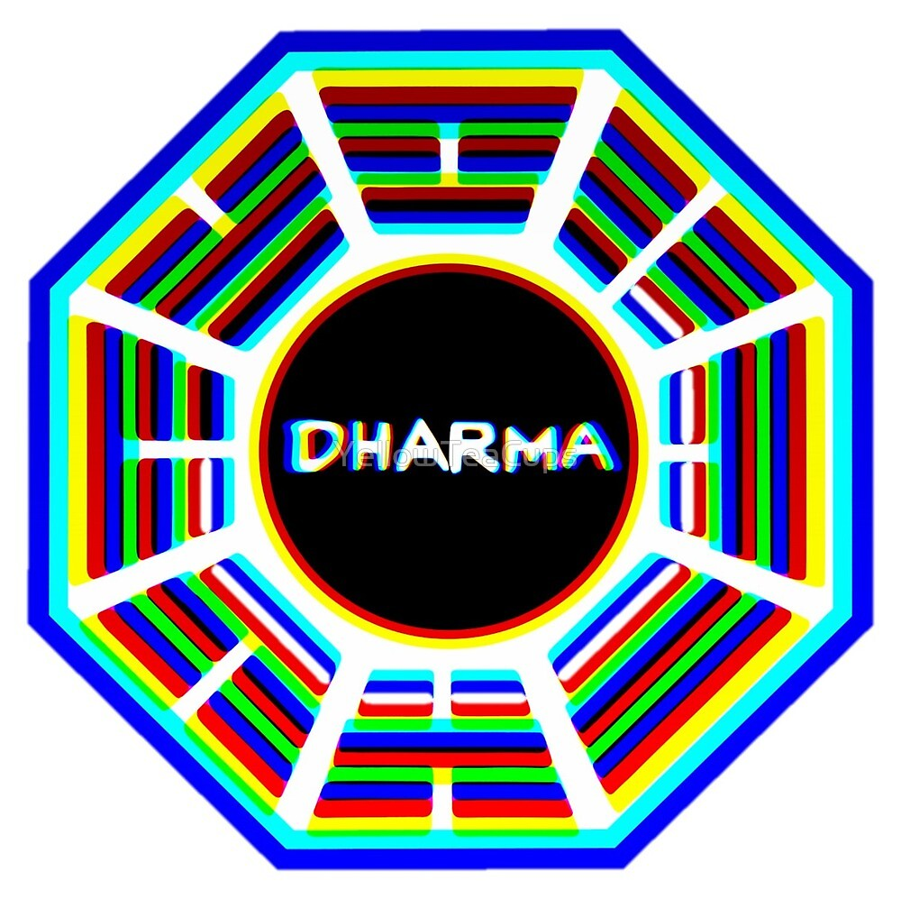 Fringed Dharma Initiative Sign   by YellowTeaCups