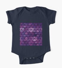 Abstract geometric Background #14 One Piece - Short Sleeve