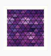 Abstract geometric Background #14 Art Print