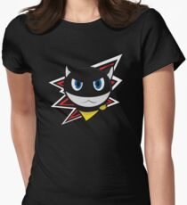Persona 5 - Morgana (red) Womens Fitted T-Shirt