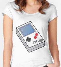 Gameboy Old School Women's Fitted Scoop T-Shirt