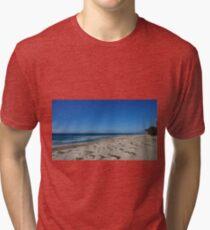 Beautiful Beach in Australia.  Tri-blend T-Shirt