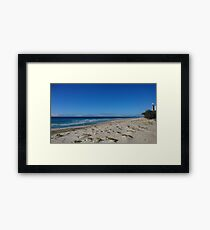 Beautiful Beach in Australia.  Framed Print
