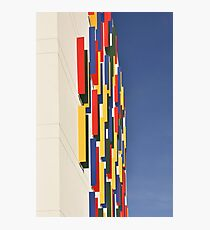 Colorful House Abstract Photographic Print