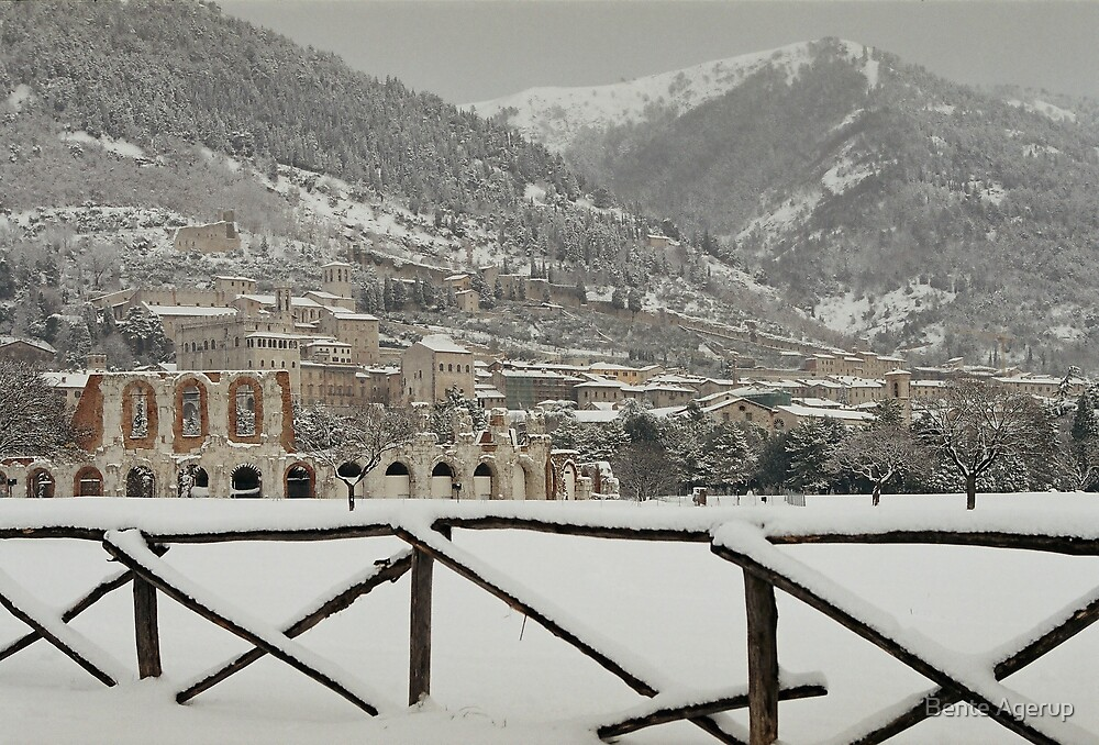 Winter in Italy by Bente Agerup