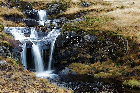 WATERFALL AT POOLS by andrewsaxton