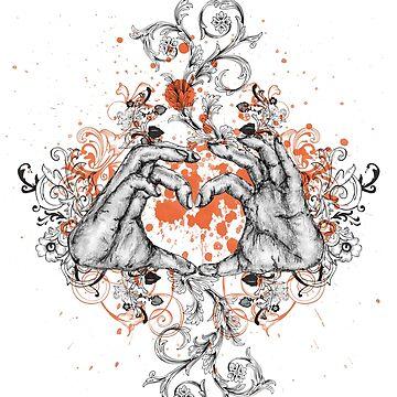 Flowerlove by SandraBurger