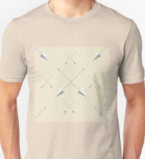 Ancient arrows pattern Unisex T-Shirt