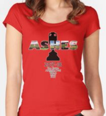 2017-18 Ashes Venues Women's Fitted Scoop T-Shirt