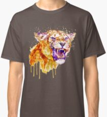 Angry Lioness Classic T-Shirt