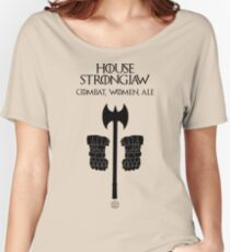 Game of Roles: House Strongjaw Women's Relaxed Fit T-Shirt