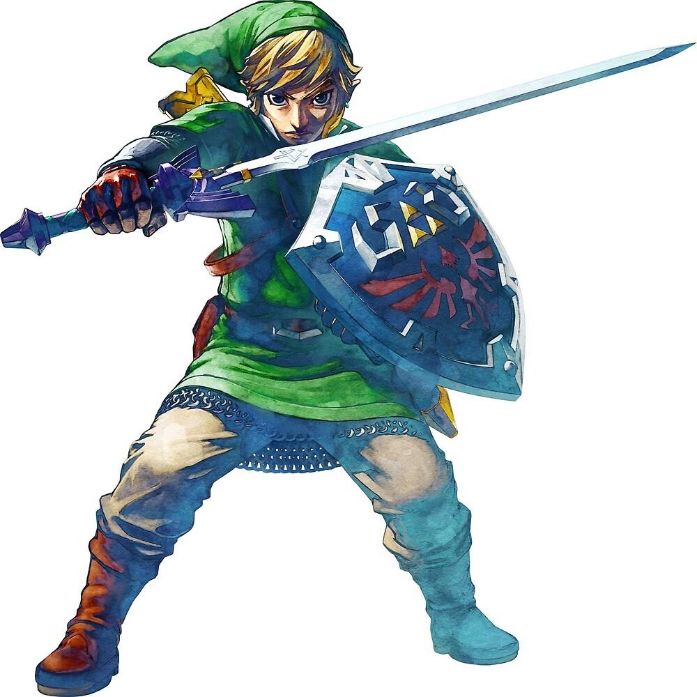 Spiral notebook Zelda Link by pierre71