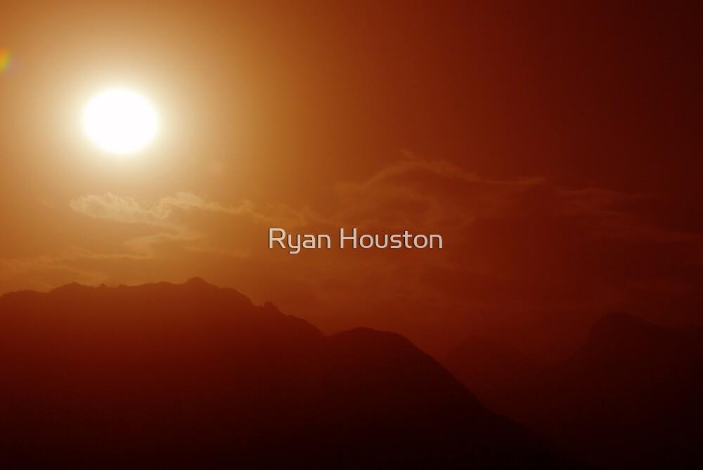 Red Dusty Sunrise by Ryan Houston