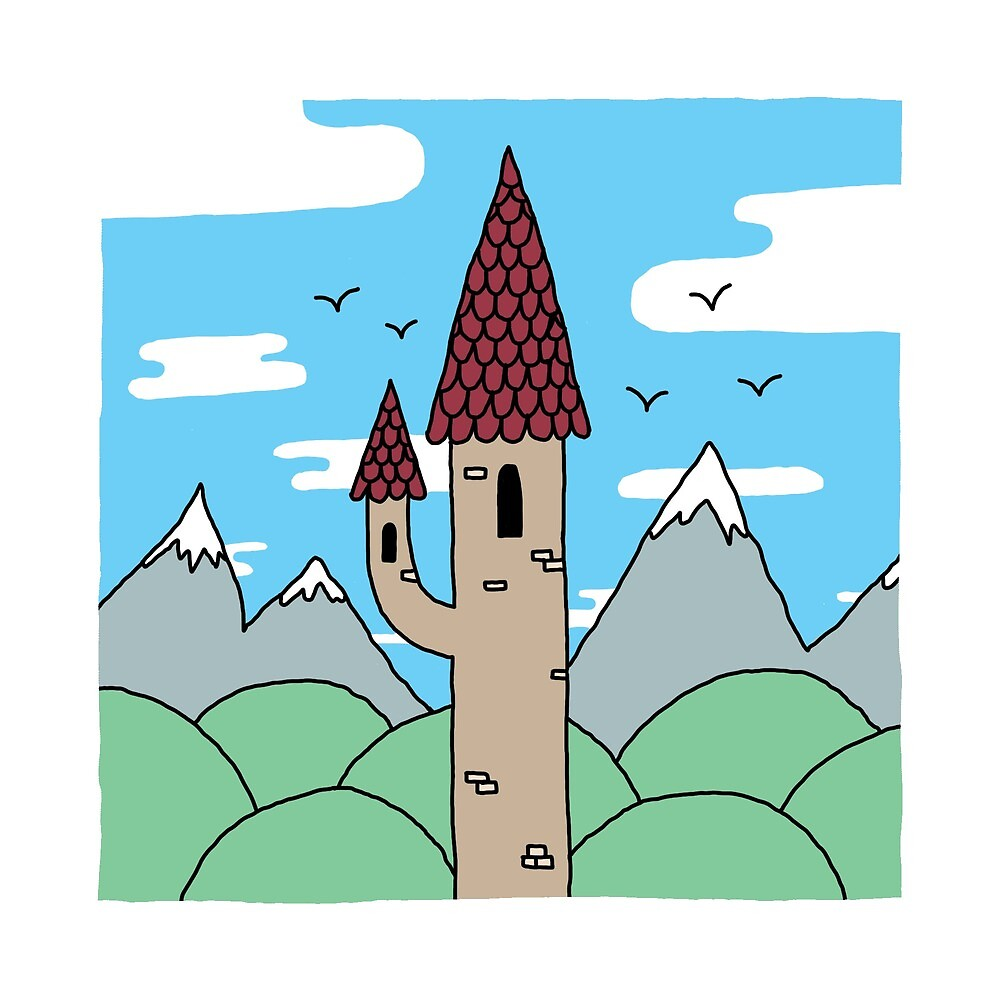 Skinny Castle by eatenalive