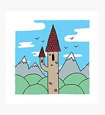Skinny Castle Photographic Print