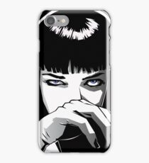 Mia Wallace Pulp Fiction iPhone Case/Skin