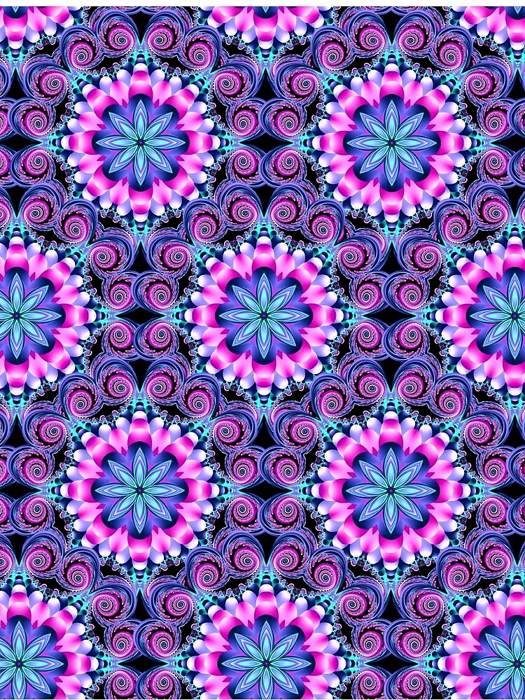 Mandala shades of pink by BURPdesigns